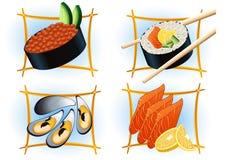 bar sushi ilustracja wektor