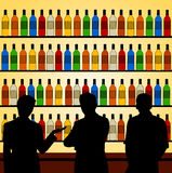 Bar talk Stock Image