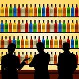 Bar talk Stock Image