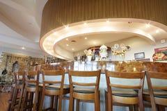 Bar in tasting room and museum in Ochakovo factory Royalty Free Stock Photos