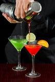 Bar tending Stock Images