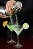 Bar tending Royalty Free Stock Images
