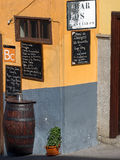 Bar in Tenerife, Canary Islands Royalty Free Stock Photography
