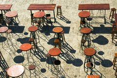 Bar terrace Royalty Free Stock Photography
