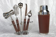 Bar Tool Set Royalty Free Stock Photography
