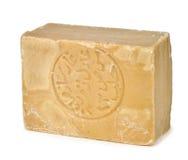 Bar of traditional Aleppo soap Stock Photos