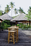 Bar in the tropics Stock Images