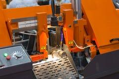 Bar van het lintzaag de scherpe staal royalty-vrije stock afbeelding