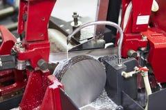 Bar van het lintzaag de scherpe staal stock fotografie