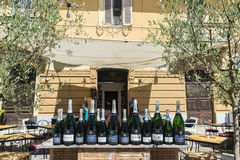 Bar w Olbia, Sardinia, Włochy Zdjęcie Royalty Free