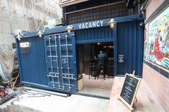 Bar w Soho terenie Hong Kong Obraz Stock