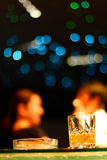 Bar and whiskey alcohol Royalty Free Stock Photos