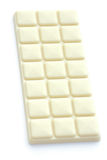 Bar of white chocolate Royalty Free Stock Photography