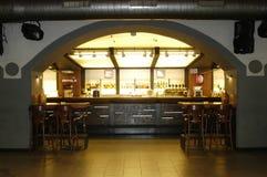 bar wnętrze Zdjęcia Royalty Free