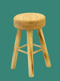 Bar wooden stool Royalty Free Stock Photography