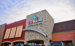 Bar y grill mexicano de Tekila, Cordova, Tennessee imágenes de archivo libres de regalías