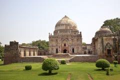 bara德里庭院gumbad印度lodi新的坟茔 免版税库存图片