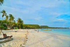Bara海滩, Bulukumba,印度尼西亚 免版税库存照片