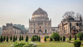Bara Gumbad tomb and mosque Stock Photos