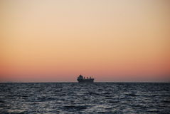 Bara i havet Royaltyfria Bilder