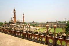 Bara Imambara,美妙的纪念碑 免版税库存照片