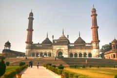Bara Imambara är ett imambarakomplex i Lucknow, Indien arkivbilder