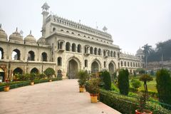 Bara Imambara is een imambara complex in Lucknow, India Royalty-vrije Stock Foto's