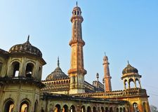Bara Imambara em Lucknow Fotos de Stock Royalty Free