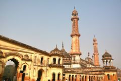 Bara Imambara is an imambara complex in Lucknow, India. The Bara Imambara is an imambara complex in Lucknow, India royalty free stock image