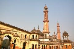 Bara Imambara ist ein imambara Komplex in Lucknow, Indien lizenzfreies stockbild