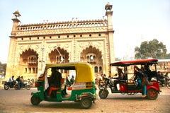 Bara Imambara jest imambara kompleksem w Lucknow, India Obraz Royalty Free