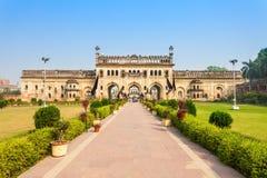 Bara Imambara Lucknow royaltyfri fotografi