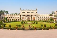 Bara Imambara Lucknow royaltyfri bild