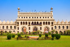 Bara Imambara Lucknow royaltyfria foton