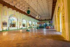 Bara Imambara Lucknow arkivfoto