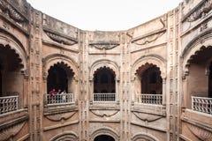 Bara Imambara Lucknow royaltyfria bilder
