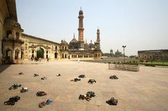 Bara Imambara, prachtig monument stock foto's