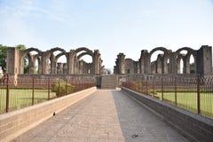 Bara Kaman, el mausoleo inacabado de Ali Adil Shah II en Bijapur, Karnataka, la India imagen de archivo