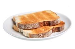 bara rostat bröd arkivfoton