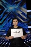 BARAA QADOURA FOR X-FACTOR SINGE CANDATE. Copenhagen-Denamrk  _Barra Qadoura i 15 years son of Palestian immigrants and one of the candiate for danish X-Factor Royalty Free Stock Image