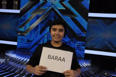 BARAA QADOURA FOR X-FACTOR SINGE CANDATE Stock Images