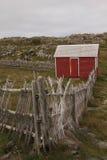 Baracca rossa Fotografia Stock
