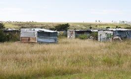 Baracche nel Transkei Sudafrica Immagine Stock Libera da Diritti
