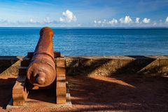 Barachois, Saint Denis, Reunion Island fotografia de stock royalty free
