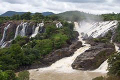 Falls Barachukki view Stock Photography