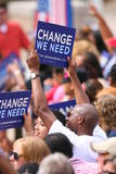 barack总统候选人的obama 免版税图库摄影