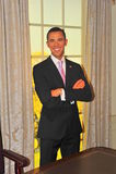 barack η κυρία obama Πρόεδρος s tussaud ΗΠΑ Στοκ Εικόνες