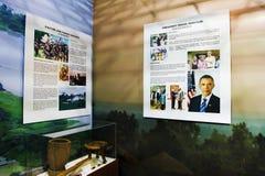 Barack Hussein Obama the 44th President Stock Photo