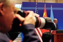 Barack Hussein Obama in G20 HangZhou Summit royalty free stock photo