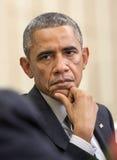 barack obama团结的总统状态 免版税图库摄影
